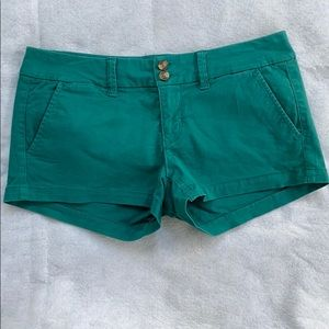 American Eagle Size 4 Shortie Stretch Shorts NWOT